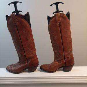 Vintage Boulet Cowboy Boots